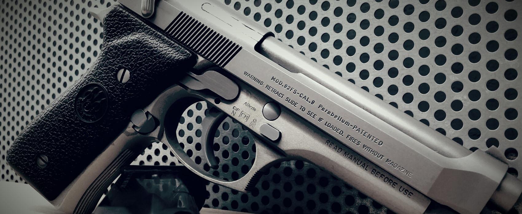 Pistole im Kaliber 9mm Para