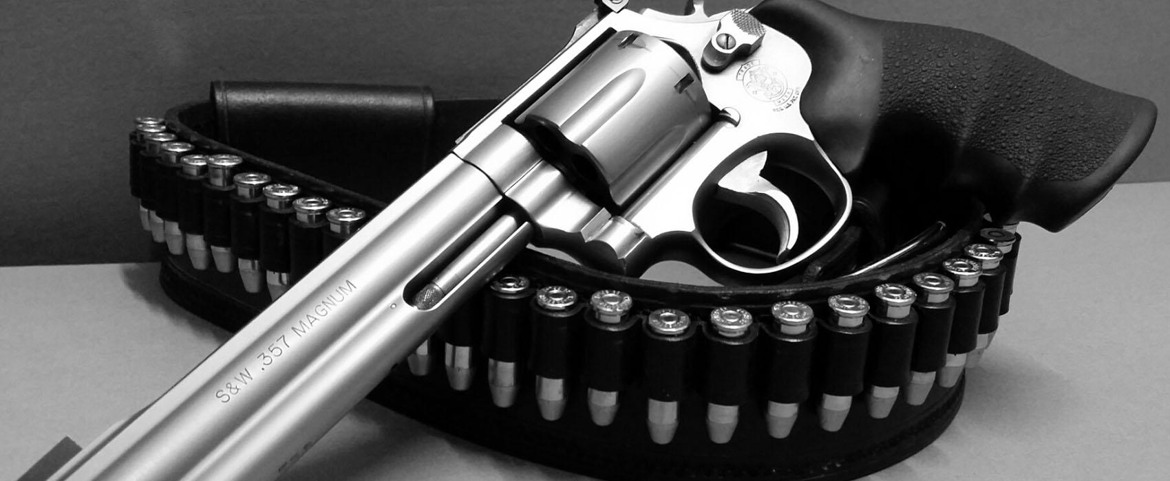 Revolver im Kaliber .357 Mag.