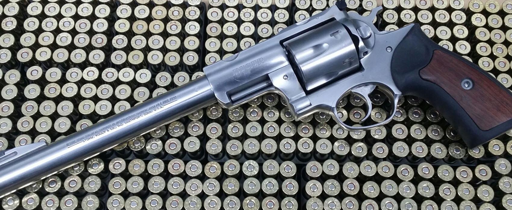 Revolver der Marke Ruger