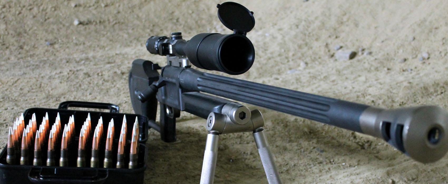 Präzisionsgewehr im Kaliber .50 BMG