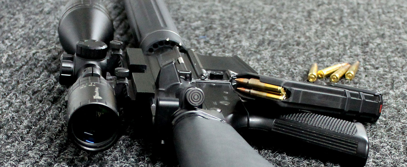 AR 15 im Kaliber .223 Rem